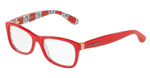 Dolce & Gabbana DG3231 3129 RED ON MAMBO PRINT