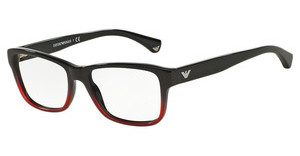 Emporio Armani EA3051 5348 BLACK GRADIENT CORAL ON BLACK