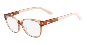Lacoste L2712 210 BROWN/ROSE STRIPED