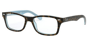Ray-Ban Junior RY1531 3701 TOP HAVANA ON HAVANA BLUE