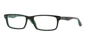 Ray-Ban RX5277 5138 TOP BLACK ON GREEN