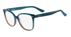 Salvatore Ferragamo SF2732 445 GRADIENT AQUA BROWN