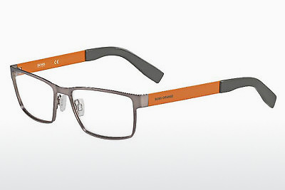 Gafas de diseño Boss Orange BO 0204 7ZL - Plateadas, Ruthenium