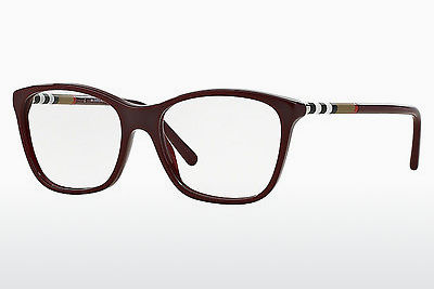 Gafas de diseño Burberry BE2141 3403 - Rojas, Bordeaux