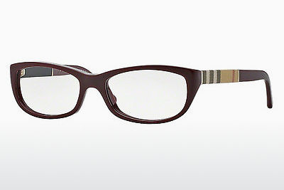 Gafas de diseño Burberry BE2167 3403 - Rojas, Bordeaux