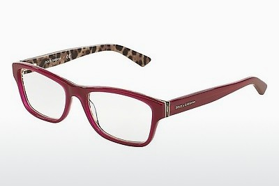 Gafas de diseño Dolce & Gabbana Enchanted Beauties (DG3208 2882) - Rojas, Bordeaux