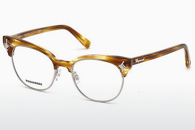 Gafas de diseño Dsquared DQ5207 047 - Marrones, Bright