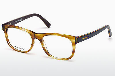 Gafas de diseño Dsquared DQ5217 047 - Marrones, Bright