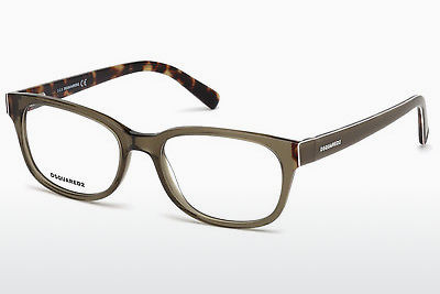 Gafas de diseño Dsquared DQ5218 045 - Marrones, Bright, Shiny