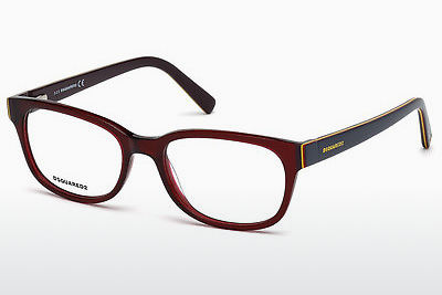 Gafas de diseño Dsquared DQ5218 047 - Marrones, Bright