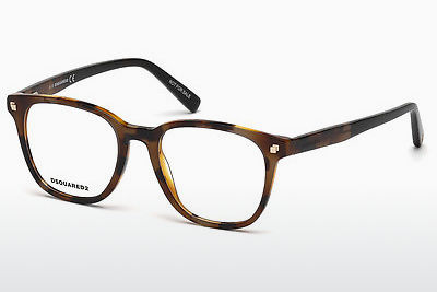 Gafas de diseño Dsquared DQ5228 053 - Havanna, Yellow, Blond, Brown