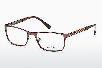 Gafas de diseño Guess GU1885 049 - Marrones, Dark, Matt