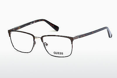 Gafas de diseño Guess GU1890 049 - Marrones, Dark, Matt