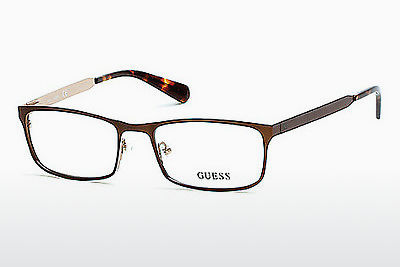 Gafas de diseño Guess GU1891 049 - Marrones, Dark, Matt