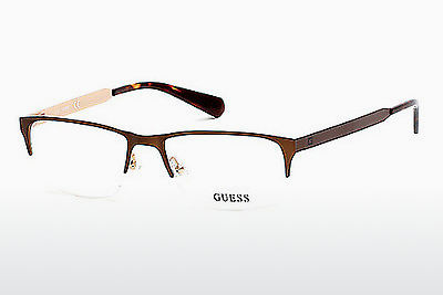 Gafas de diseño Guess GU1892 049 - Marrones, Dark, Matt
