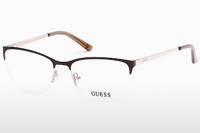Gafas de diseño Guess GU2543 045 - Marrones, Bright, Shiny