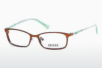Gafas de diseño Guess GU9155 046 - Marrones, Bright, Matt
