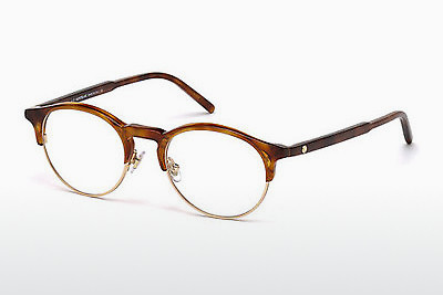 Gafas de diseño Mont Blanc MB0555 053 - Havanna, Yellow, Blond, Brown