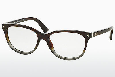 Gafas de diseño Prada JOURNAL (PR 14RV TKT1O1) - Grises, Marrones, Havanna