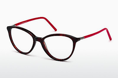 Gafas de diseño Tod's TO5122 054 - Havanna, Red