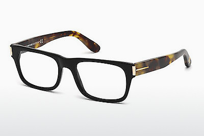 Gafas de diseño Tom Ford FT4274 001 - Negras, Shiny