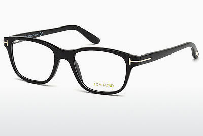 Gafas de diseño Tom Ford FT5196 001 - Negras, Shiny