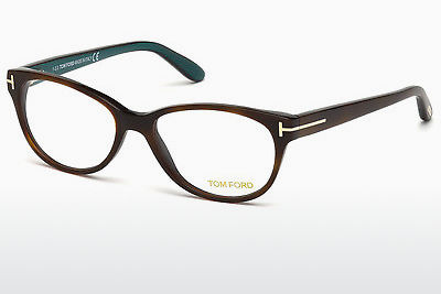 Gafas de diseño Tom Ford FT5292 052 - Marrones, Dark, Havana