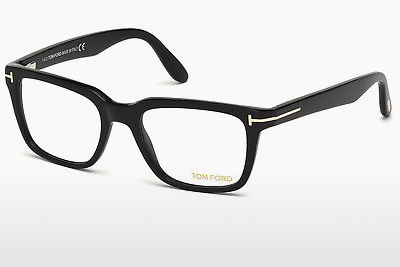Gafas de diseño Tom Ford FT5304 001 - Negras, Shiny