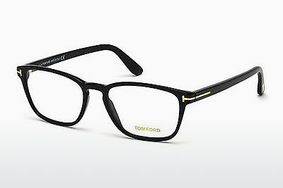 Gafas de diseño Tom Ford FT5355 001 - Negras, Shiny