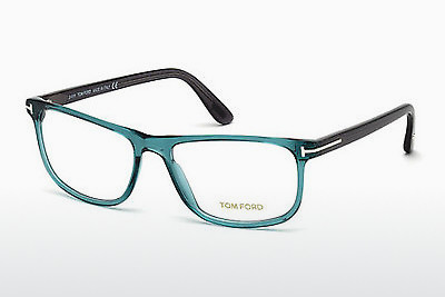 Gafas de diseño Tom Ford FT5356 087 - Azules, Turquoise, Shiny