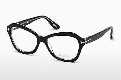 Gafas de diseño Tom Ford FT5359 003 - Negras, Transparent