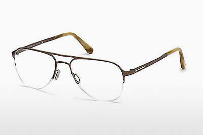 Gafas de diseño Tom Ford FT5370 034 - Bronce, Bright, Shiny