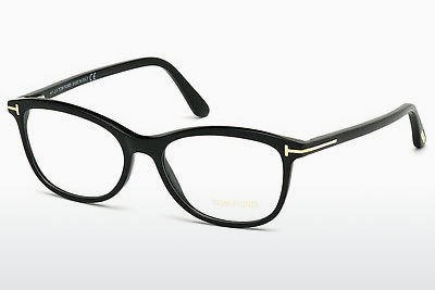 Gafas de diseño Tom Ford FT5388 001 - Negras, Shiny