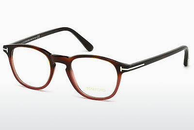 Gafas de diseño Tom Ford FT5389 054 - Havanna, Red