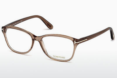 Gafas de diseño Tom Ford FT5404 048 - Marrones, Dark, Shiny
