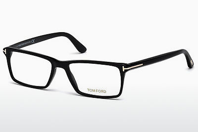 Gafas de diseño Tom Ford FT5408 001 - Negras, Shiny
