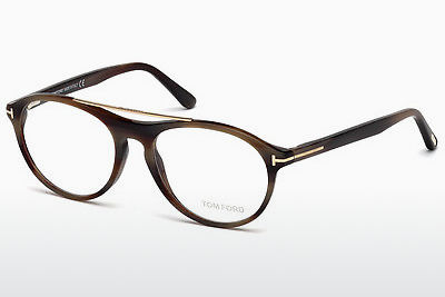 Gafas de diseño Tom Ford FT5411 062 - Marrones, Horn, Ivory
