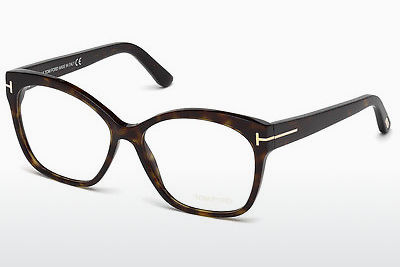 Gafas de diseño Tom Ford FT5435 052 - Marrones, Dark, Havana