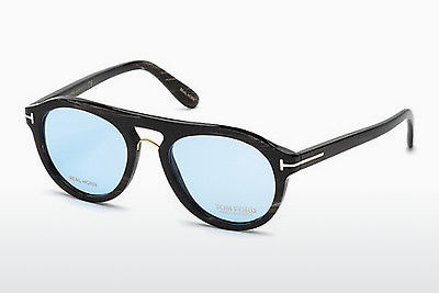 Gafas de diseño Tom Ford FT5438-P 62V - Marrones, Horn, Ivory