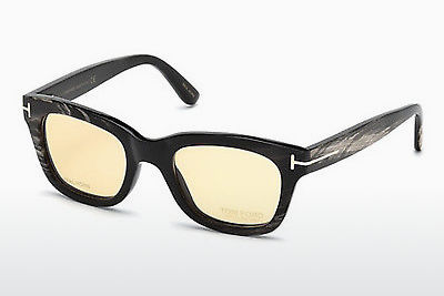 Gafas de diseño Tom Ford FT5439-P 62E - Marrones, Horn, Ivory
