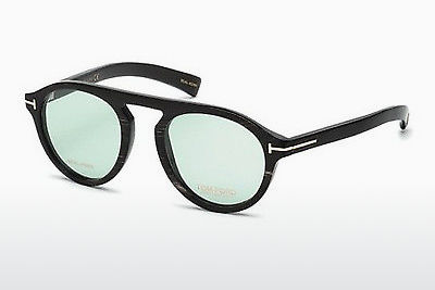 Gafas de diseño Tom Ford FT5441-P 62N - Marrones, Horn, Ivory