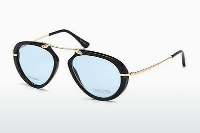 Gafas de diseño Tom Ford FT5442-P 62V - Marrones, Horn, Ivory
