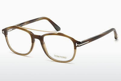 Gafas de diseño Tom Ford FT5454 062 - Marrones, Horn, Ivory