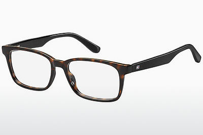 Gafas de diseño Tommy Hilfiger TH 1487 9N4 - Marrones, Havanna
