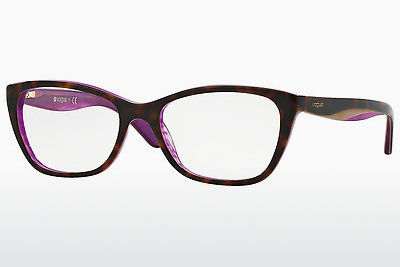 Gafas de diseño Vogue VO2961 2019 - Marrones, Havanna