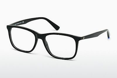 Gafas de diseño Web Eyewear WE5180 001 - Negras, Shiny
