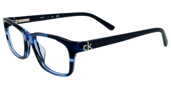 Calvin Klein CK5650 528 STRIPED BLUE