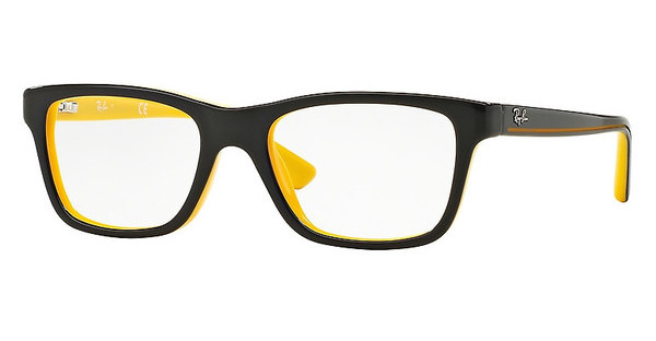 Ray-Ban Junior RY1536 3660 TOP BLACK ON YELLOW