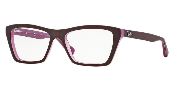 Ray-Ban RX5316 5386 TOP MATTE BROWN ON OPAL PINK