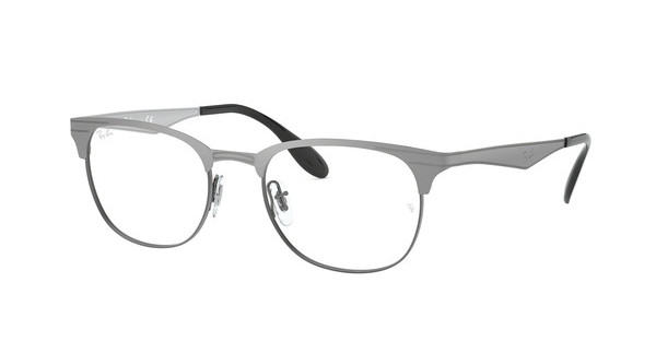 Ray-Ban RX6346 2553 BRUSHED GUNMETAL